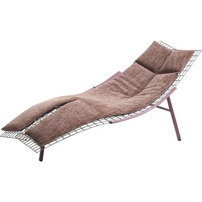 Vintage Swing Lounge Chair by Giovanni Offredi for Saporiti 1963