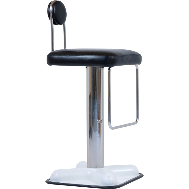 Vintage bar stool by Joe Colombo for Zanotta 1980