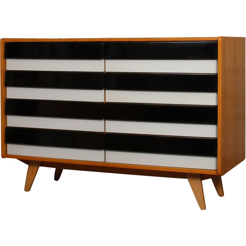 Vintage chest of drawers by Jiri Jiroutek made by Interier Praha, 1960