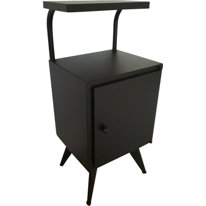 Vintage industrial bedside table Tolix