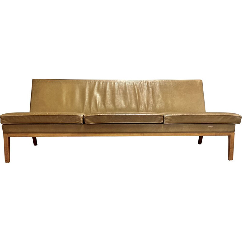 Vintage leather sofa Kill International 1960