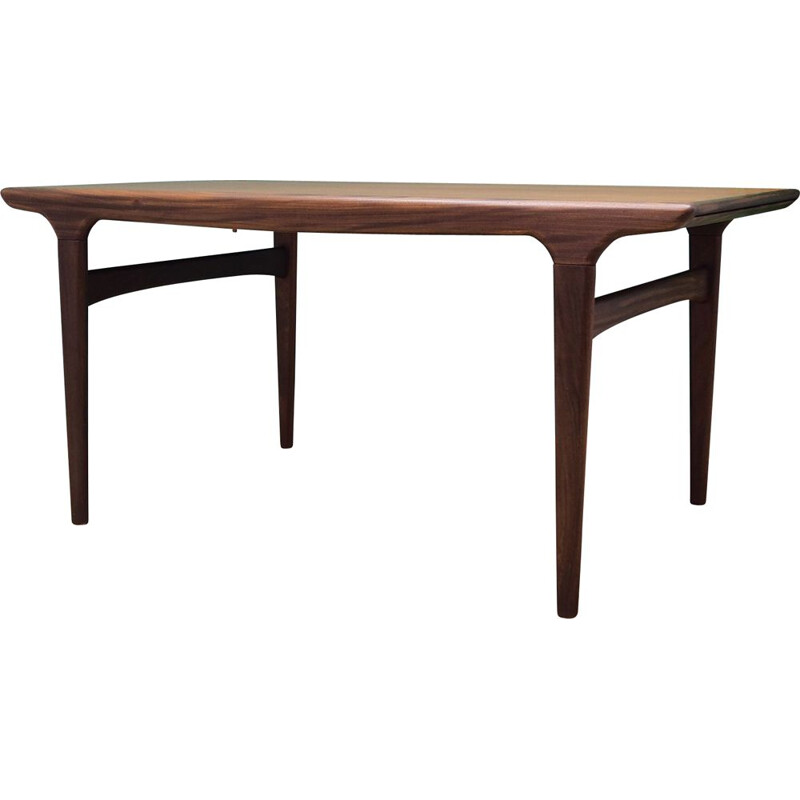 Teak table vintage by Johannes Andersen from Danish Uldum 1970