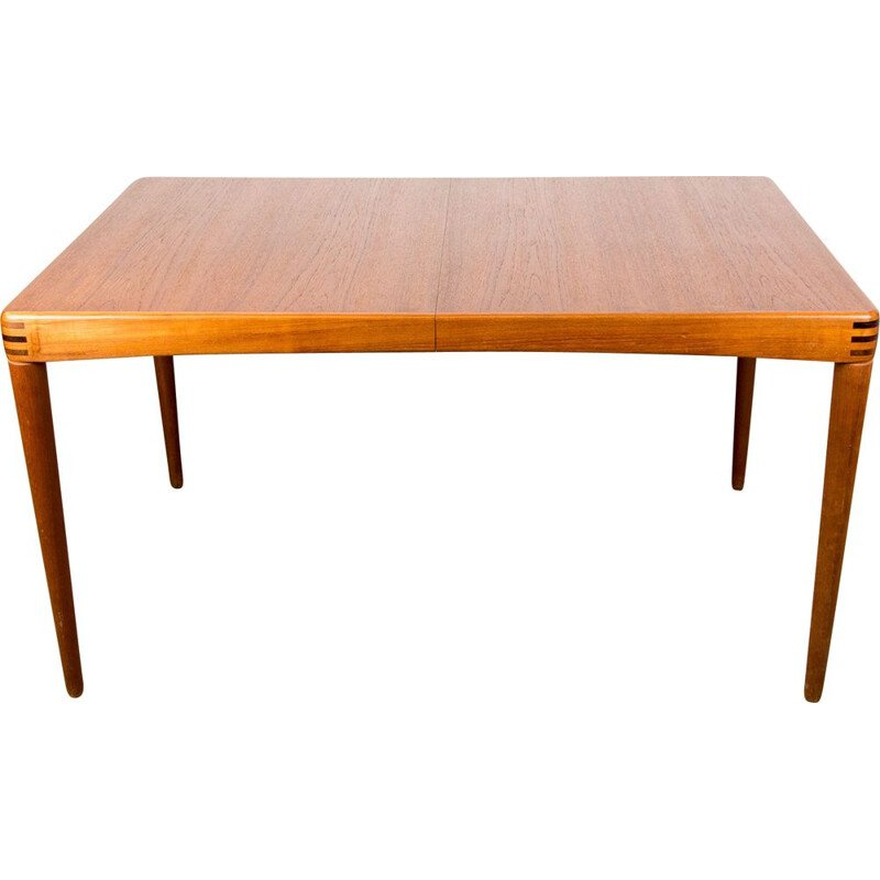 Vintage Teak Dining Table by Henry Walter Klein for Danish Bramin