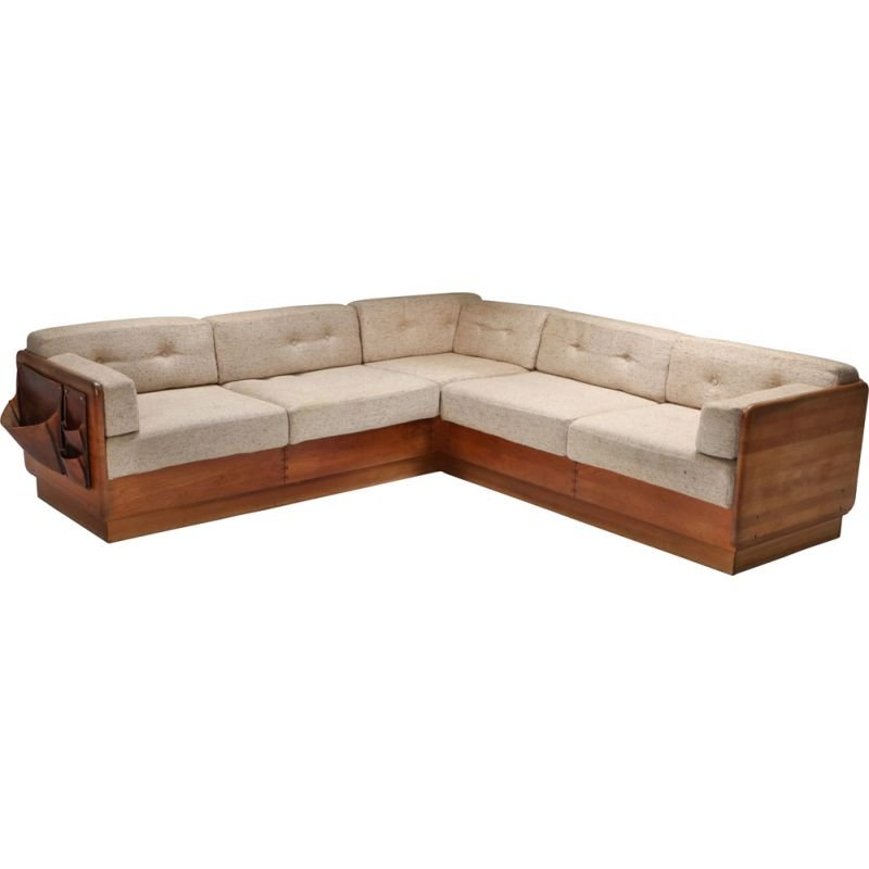 Mid-Century Sectional Couch by Mikael Laursen - 1960s