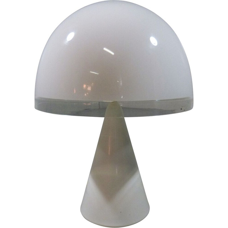 Large vintage Baobab table lamp, model 4044, by Guzzini, Italy 1982