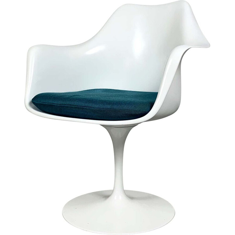 Vintage Swivel Tulip Armchair by Eero Saarinen for Knoll, 1970s