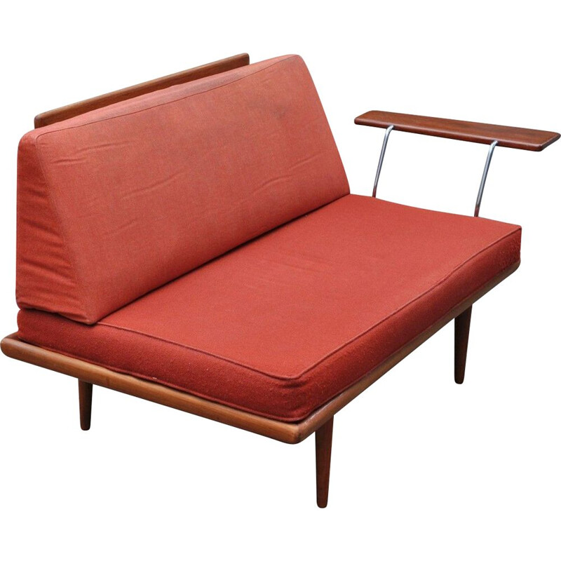 2 seater sofa or daybed Minerva by Peter Hvidt and Orla Molgaard Nielsen for France and Daverkosen, Denmark