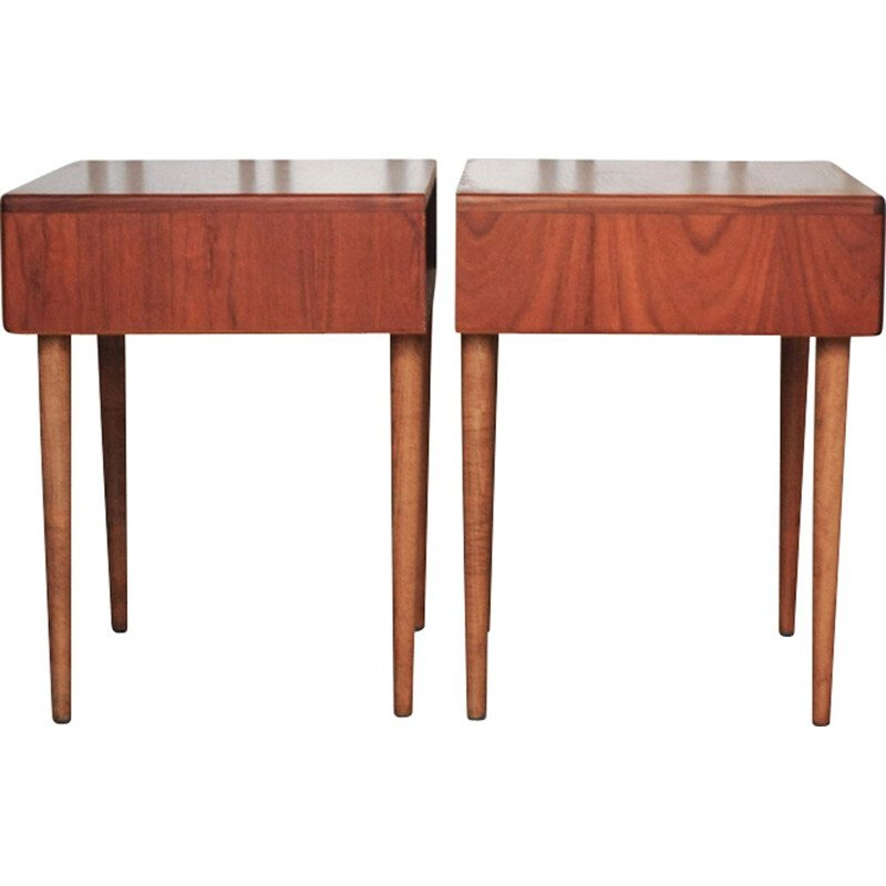 Pair of Teak Bedside Tables from G-Plan, 1960s
