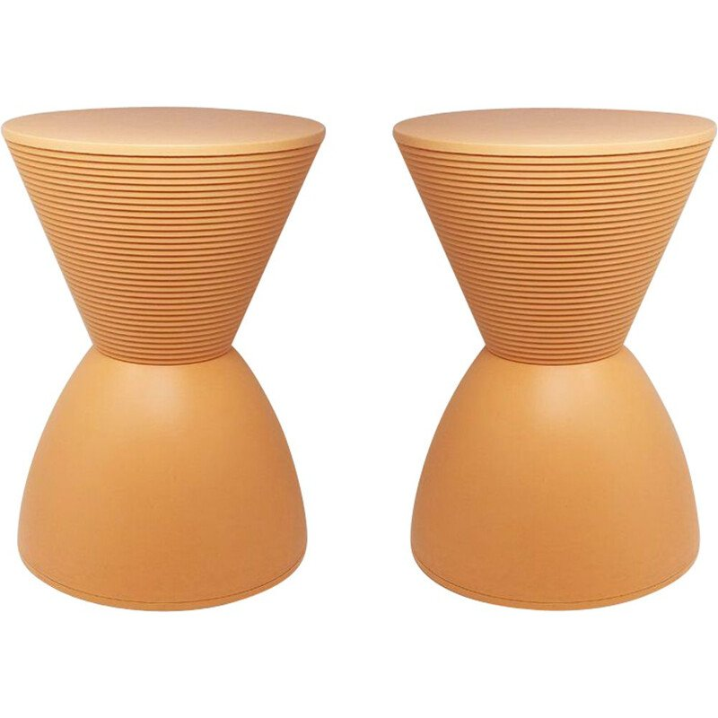 Pair of Prince Aha Stools by Philippe Starck for Kartell, 1996