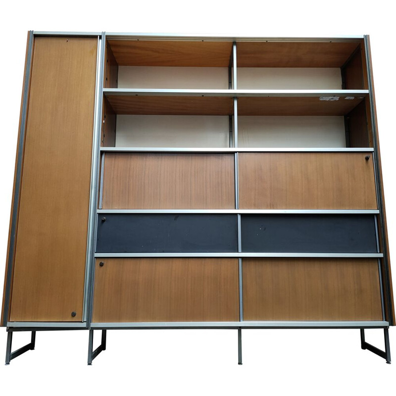 Vintage bookcase Georges frydman shelves