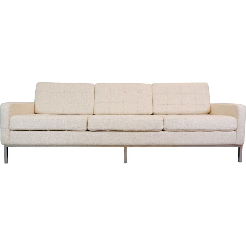 Vintage 3 seater sofa for International Florence Knoll