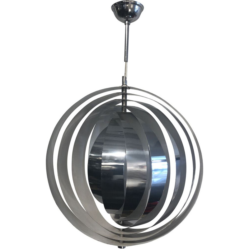 Vintage moon pendant by Verner Panton for Louis Poulsen, 1960s
