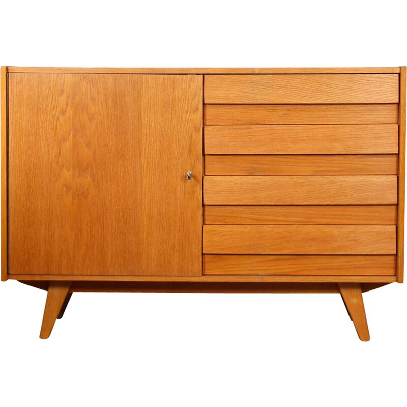 Vintage chest of drawers U-458 by Jiri Jiroutek for Interier Praha, 1960