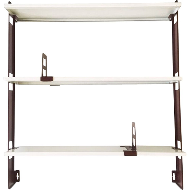 Vintage Tomado Wall Rack, A.Dekker, The Netherlands 1950