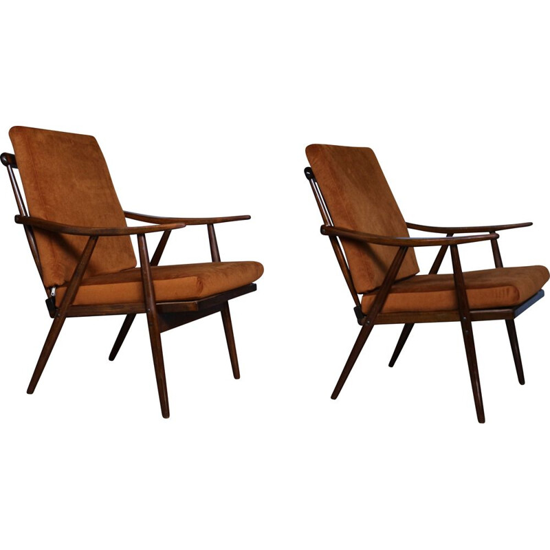 Pair of Vintage armchairs, Danish 1960