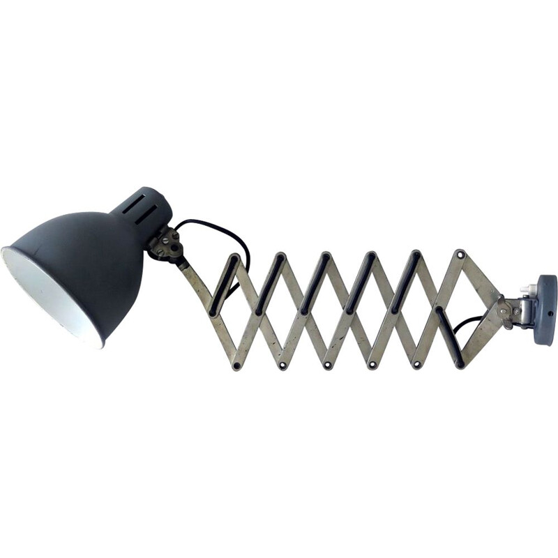 Vintage Extendable industrial wall lamp
