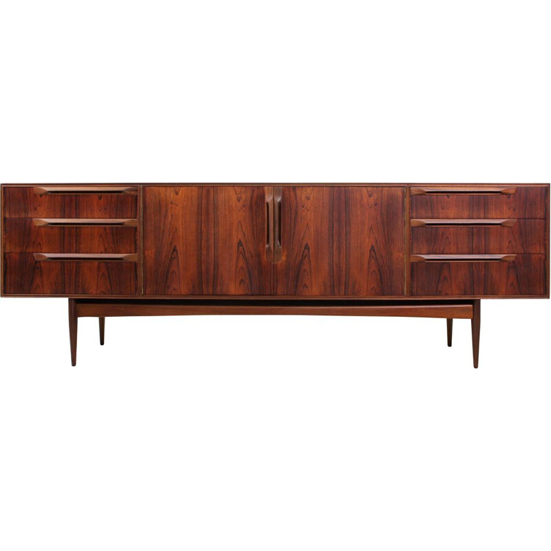 Vintage British Rosewood Sideboard from McIntosh, 1960s