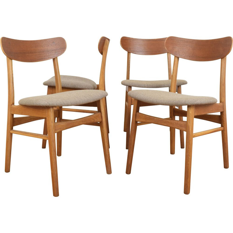 Set of 4 Mid-Century Dining Chairs from Farstrup, Danish 1960s