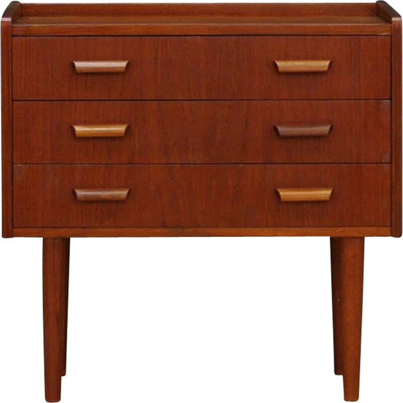 Vintage chest of drawers minimalist Danish 1970s