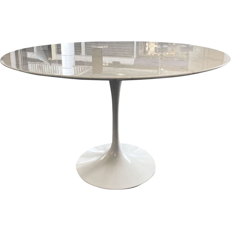Vintage tulip dining table Eero Saarinen