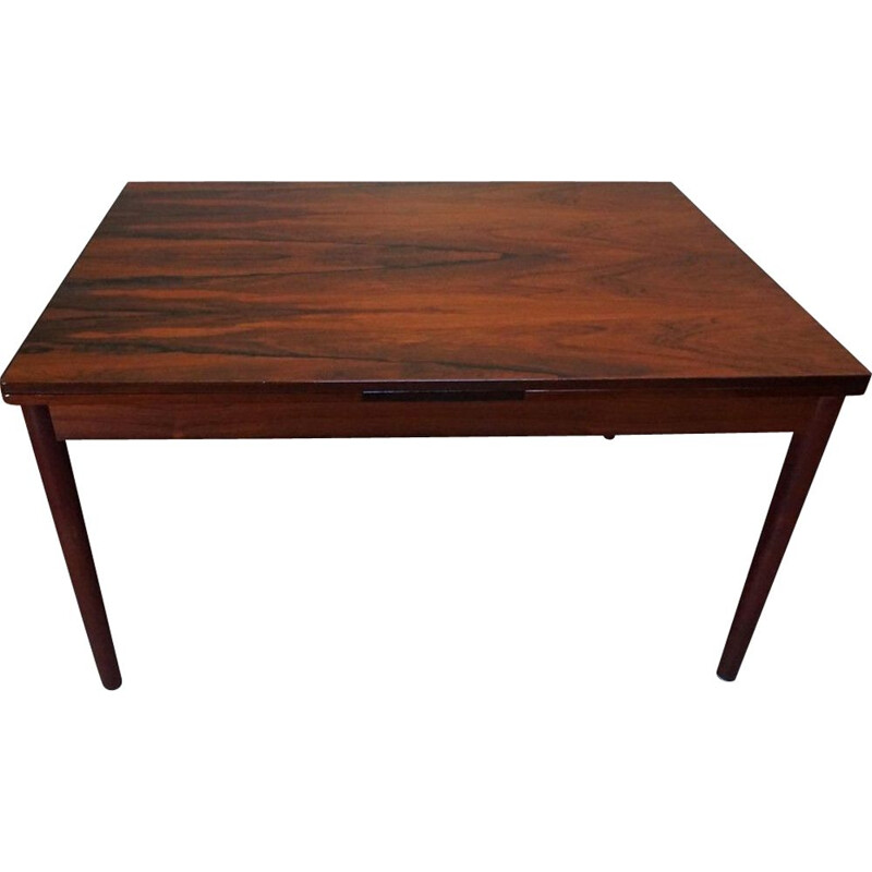 Mid-Century Rosewood Dining Table by Arne Vodder for Sibast, Danish 1960s