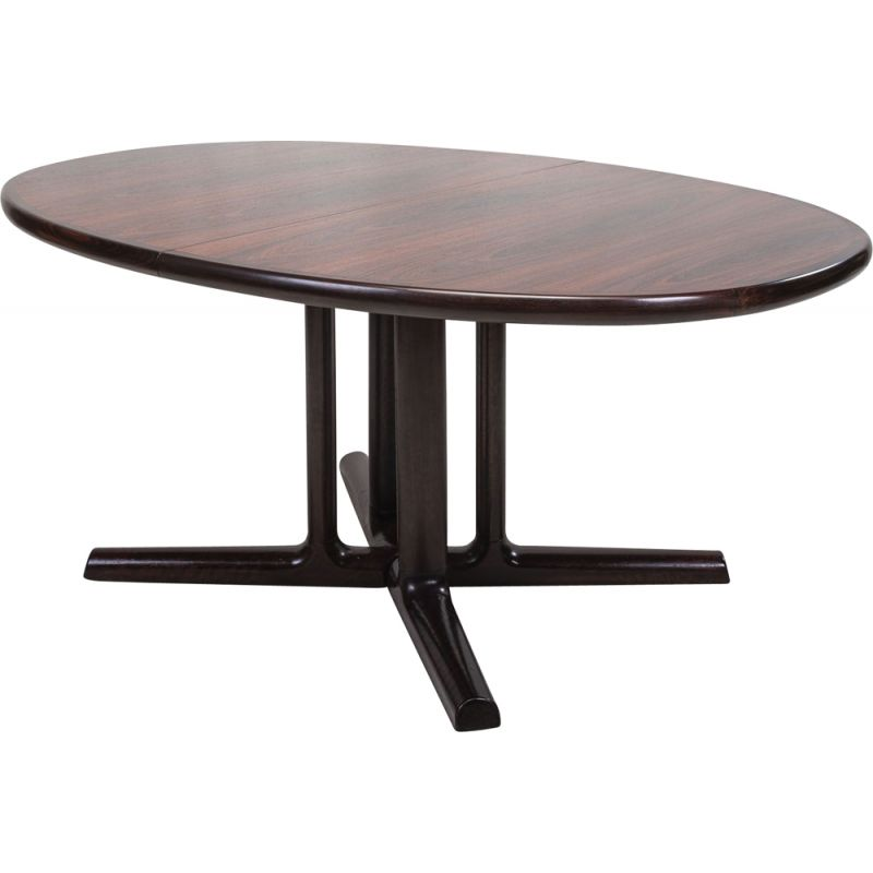 Vintage Rosewood Folding Dining Table From Dyrlund Danish 1960s Design Market