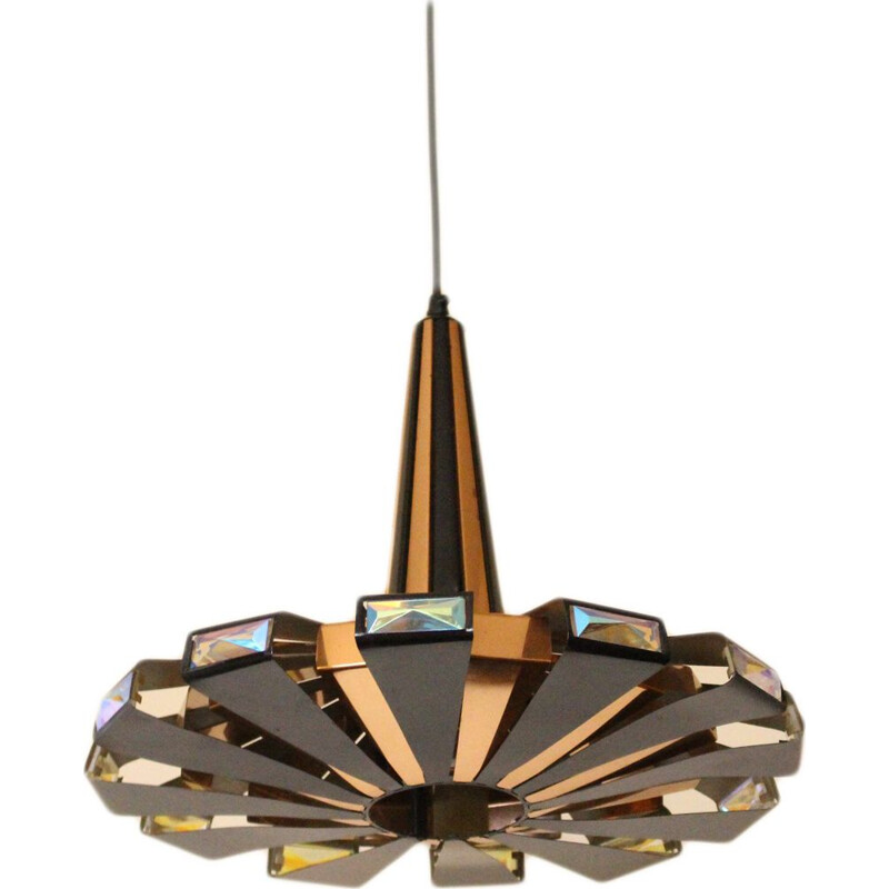 Vintage Werner Schou Pendant Lamp for Coronell 1970s
