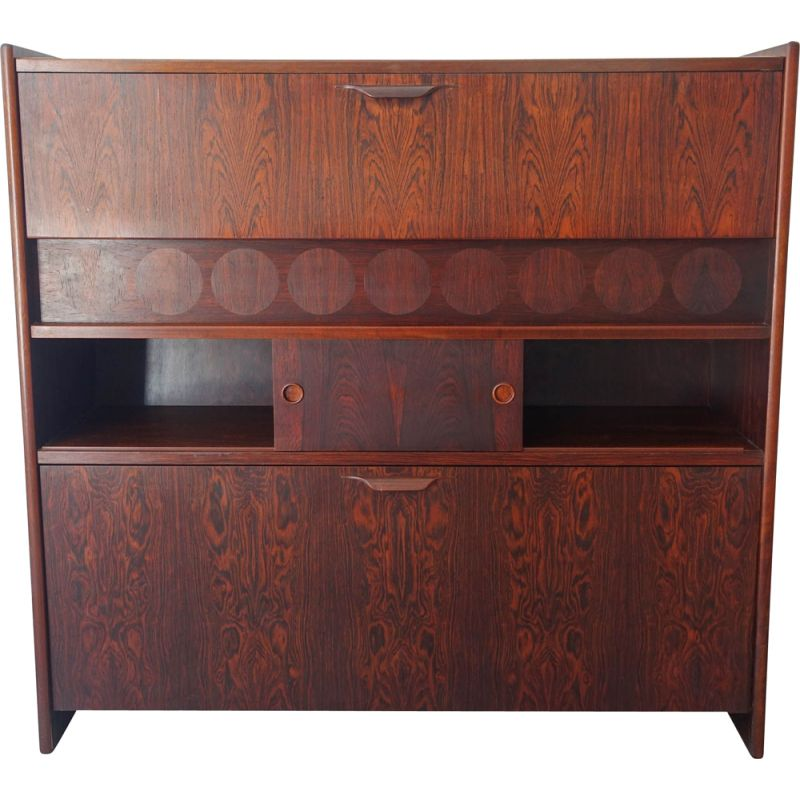 Vintage Rosewood Bar Cabinet SK661 by Johannes Andersen for Skaaning & Søn, 1960