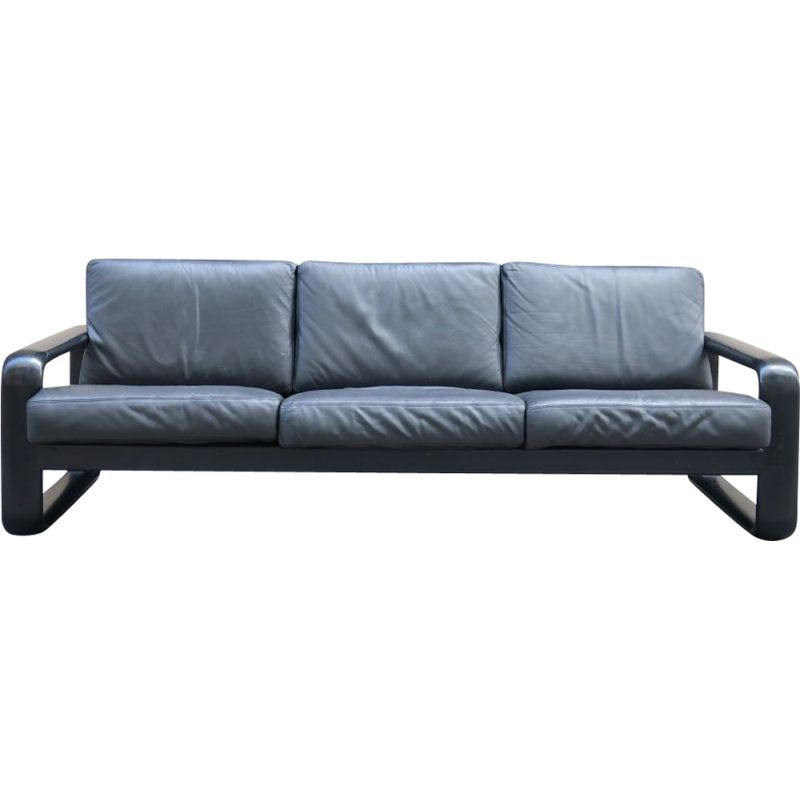 Vintage leather sofa for Rosenthal studio line