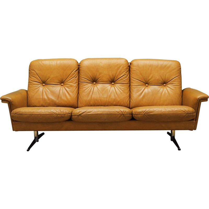 Vintage Sofa leather, Danish 1960s