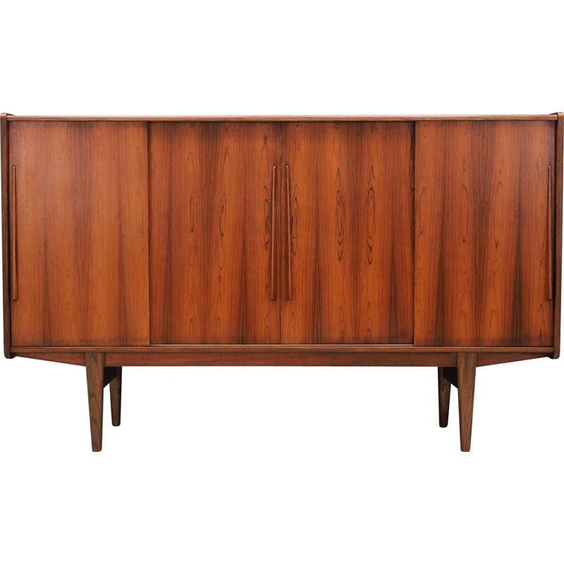Vintage Highboard rosewood  Danish 1970s