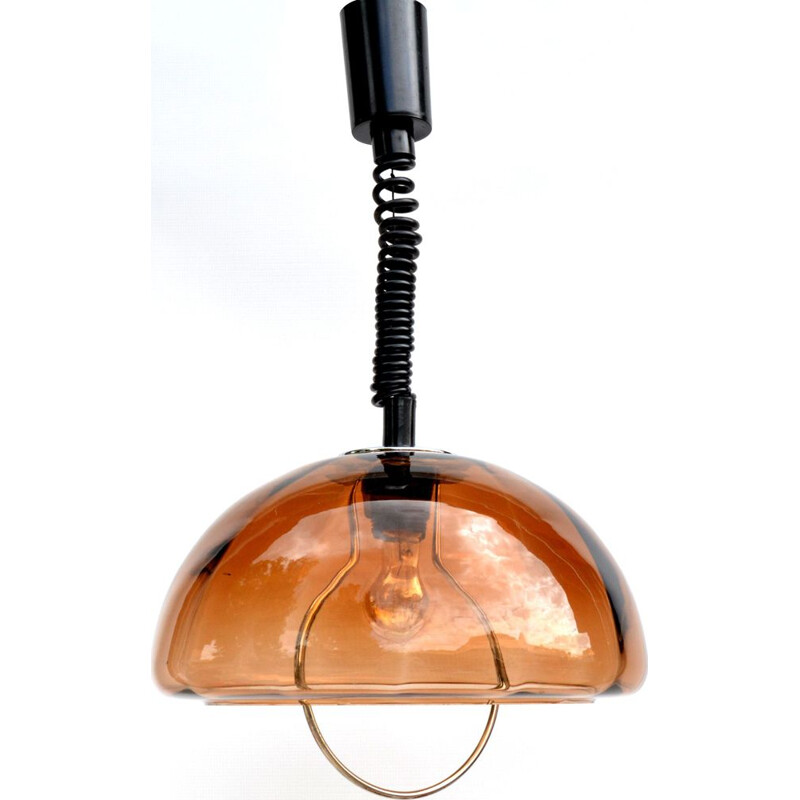 Vintage kitchen ceiling lamp Dijkstra Netherlands, 1970s