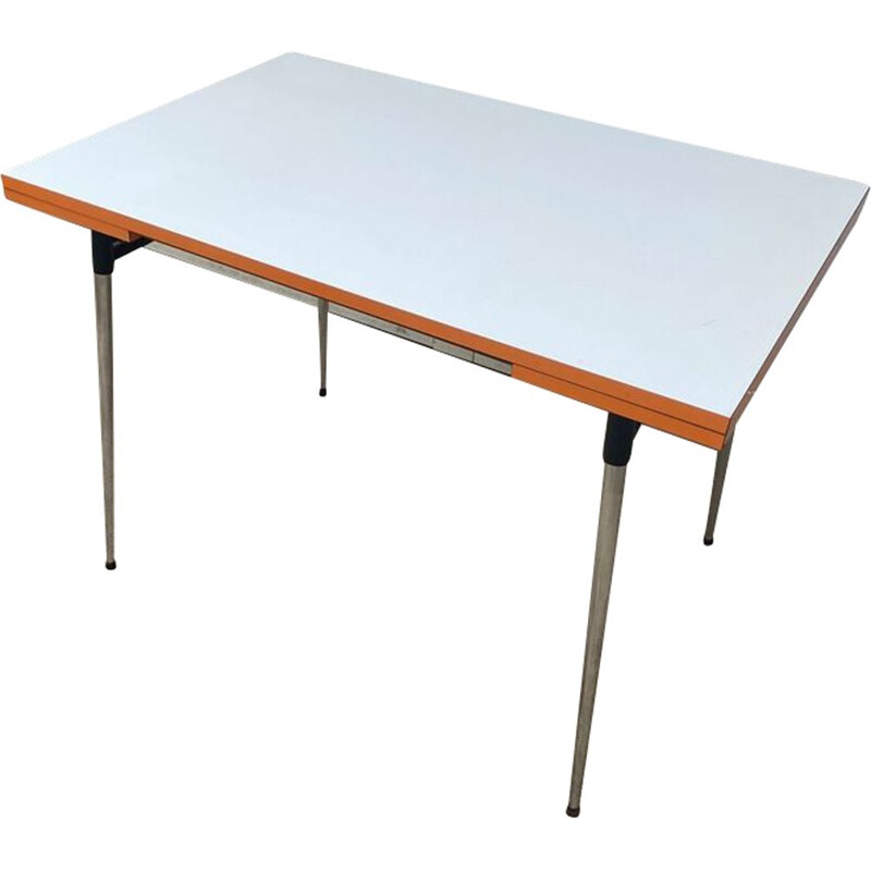 Vintage dining table in formica 1970