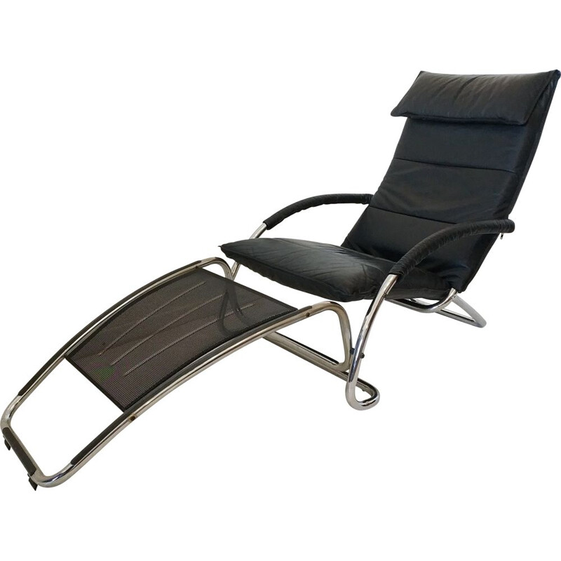 Vintage rocking chair by Jochen Hoffmann for Bonaldo