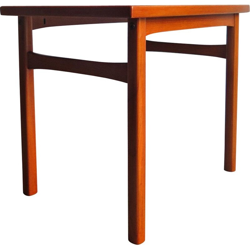 Vintage teak side table Danish 1960