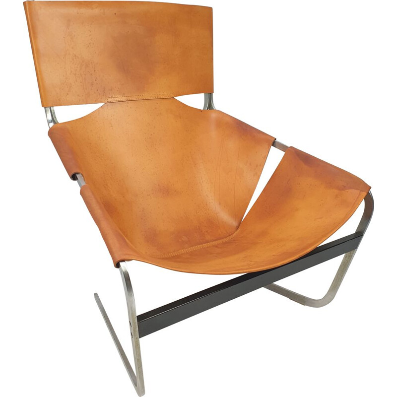 Vintage Model F444 Lounge Chair by Pierre Paulin for Artifort, 1960s