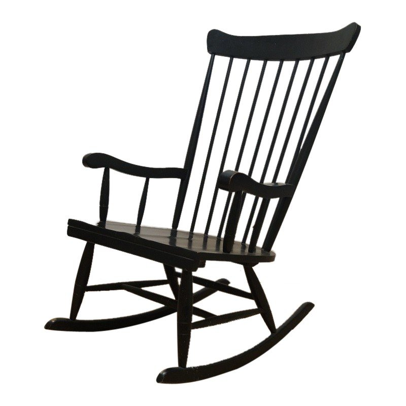 Rocking Chair vintage - 1960s - Design Market