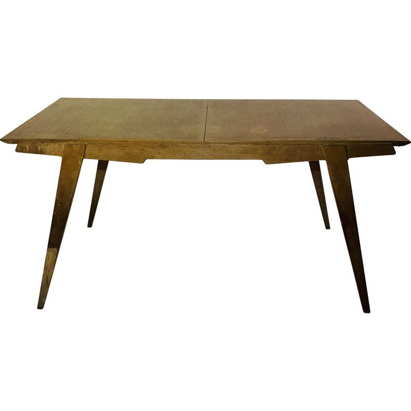 Vintage wooden table Guermonprez
