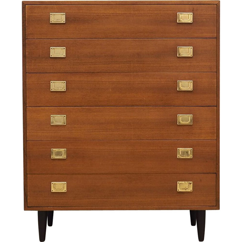 Vintage teak chest of drawers Scandinavian 1970