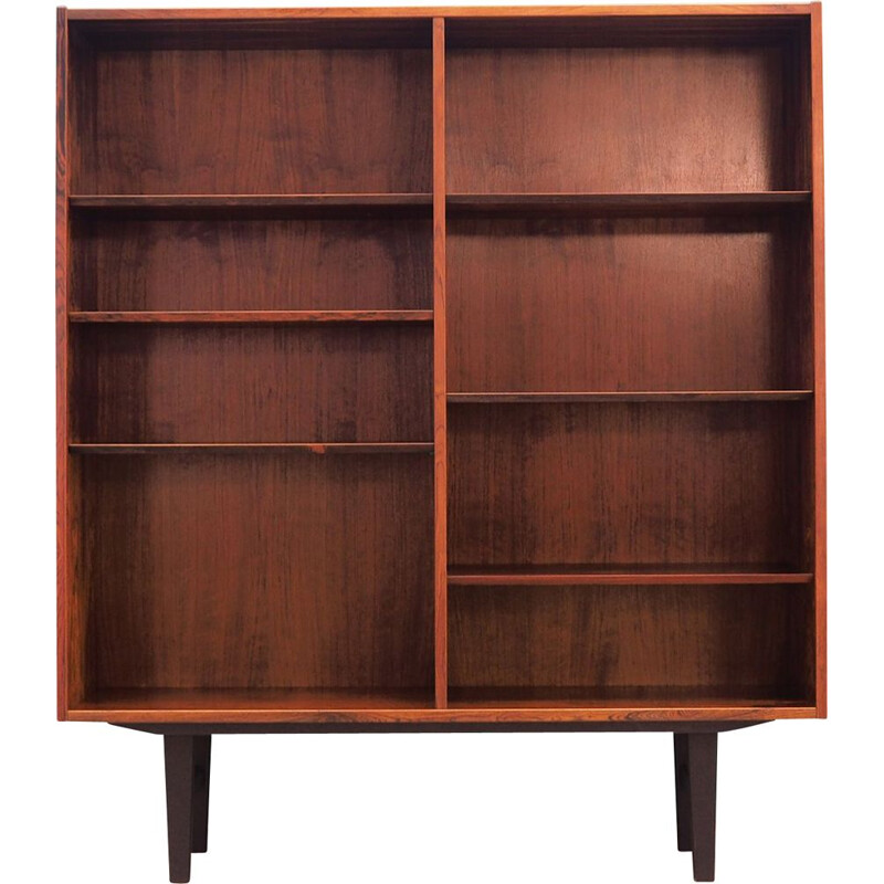 Vintage bookcase Rosewood by Poul Hundevad 1960