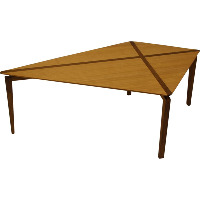 Vintage Coffee table  beech wood by Stefan Goransson