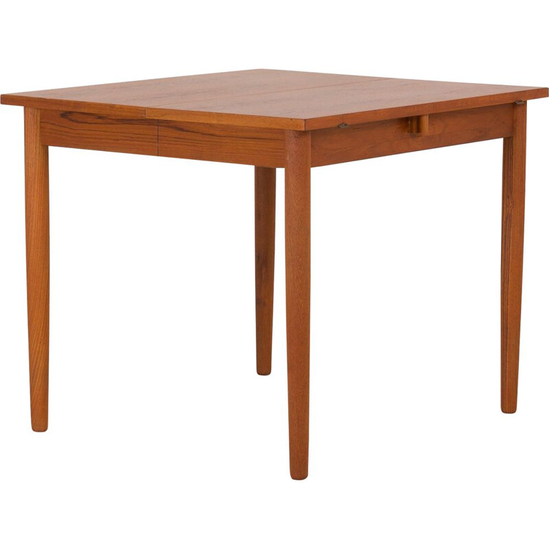 Vintage drop leaf table in teak,Danish 1960s