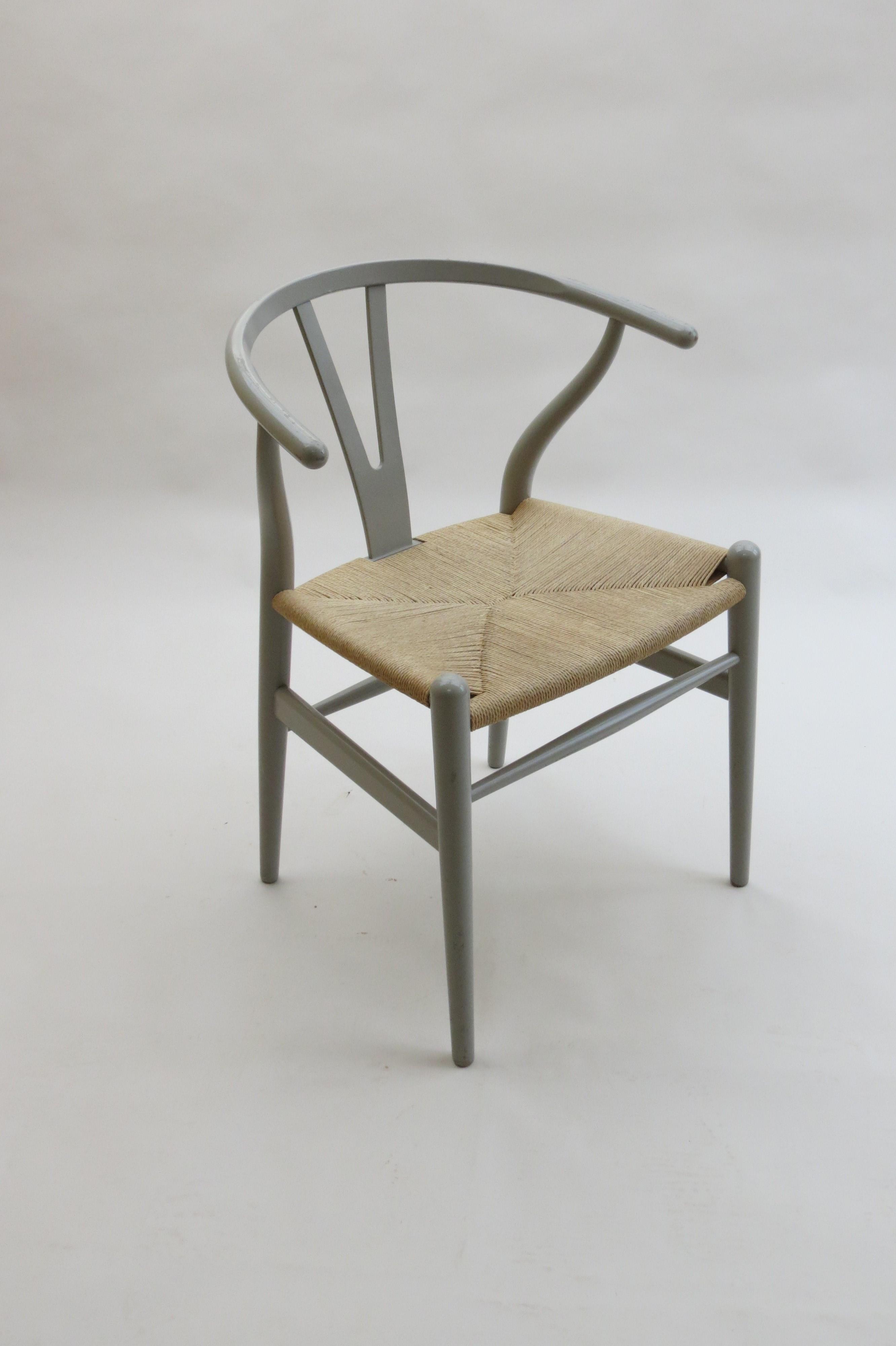 "Carl Hansen ""Wishbone"" chair in beechwood and paper cord Hans"