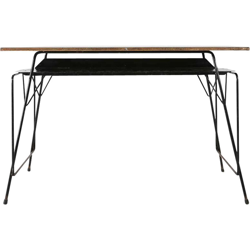 Vintage Willy Van Der Meeren desk, 1950s