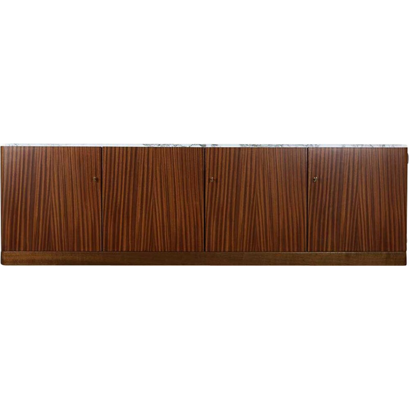 Vintage Floating credenza by Belgian by Jos de Mey for Pauvers