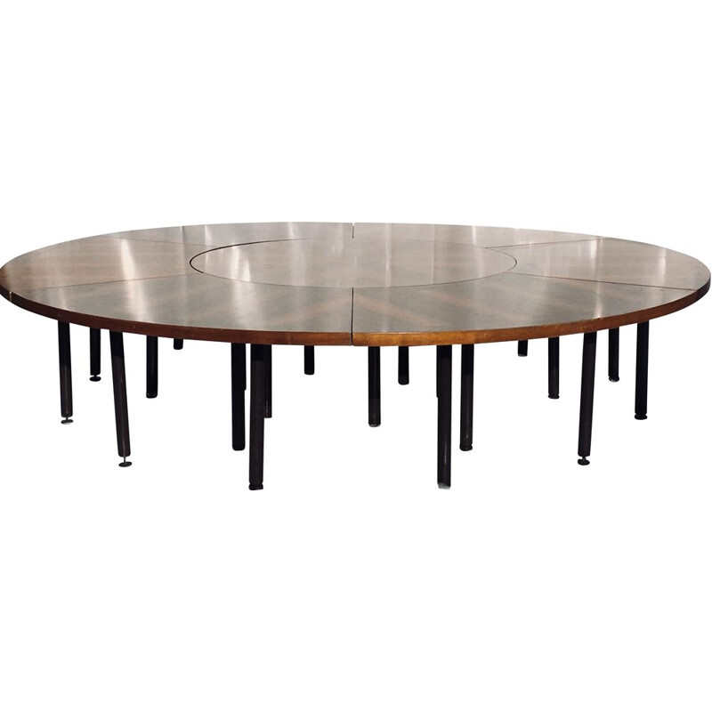 Vintage meeting or conference table, 1960
