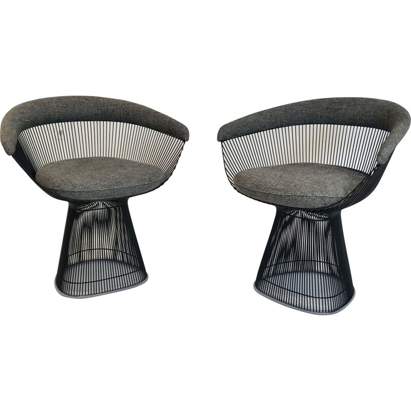 Platner Vintage Armchairs by Warren Platner for Knoll Iternational