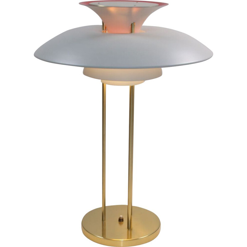 Vintage Lamp Poul Table, Henningsen, Louis, Poulsen, PH5, 1978