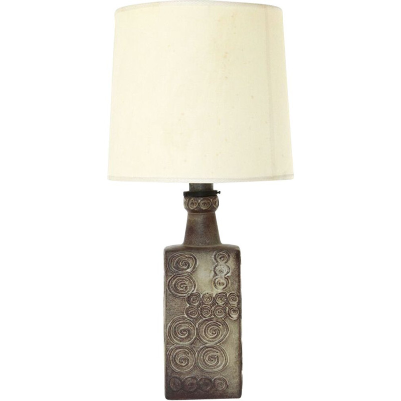 Vintage ceramic table lamp, West German 1960s