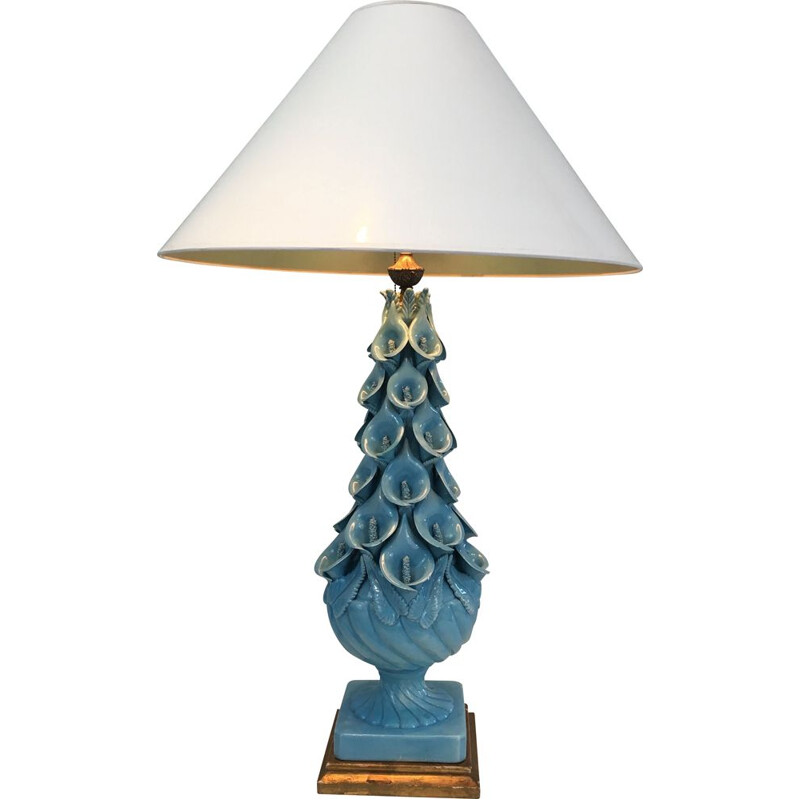 Vintage Ceramic Decorative Lamp 1950